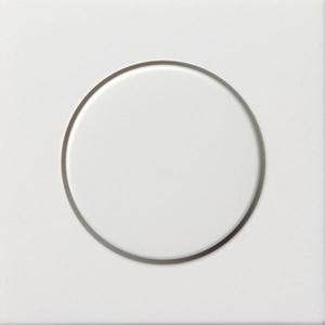 Gira 0650112, Abd. Knopf Dimmer + Potentiometer Flächenschalter Reinweiß