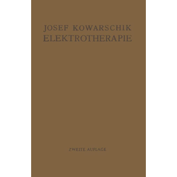 Elektrotherapie: eBook von Josef Kowarschik