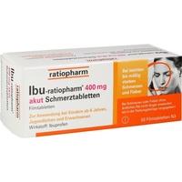 Ratiopharm IBU-RATIOPHARM 400 mg akut Schmerztabletten 50 St.