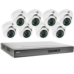 Videoüberwachung Set 8x IR Dome Überwachungskamera 600/720TVL