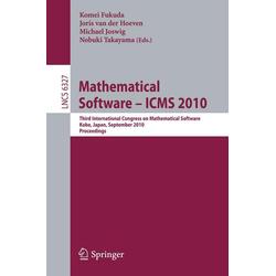 Mathematical Software - ICMS 2010