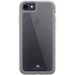 Black Rock  Robust Transparent  Cover Apple iPhone 7, iPhone 8, iPhone SE (2020) Grau, Transparent