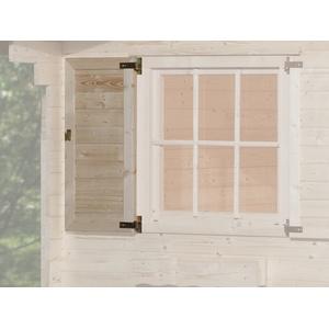 Fensterladen 1-Seitig für Fenster 91 x 91