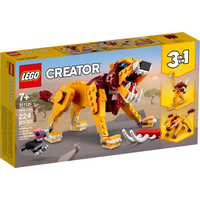 Lego Creator 3 in 1 Wilder Löwe 31112