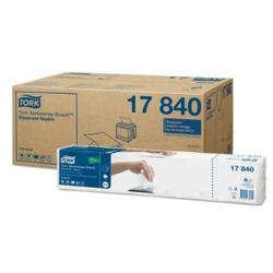 Tork Xpressnap Snack ™ Spenderserviette Universal, Nachfüllservietten für N10 Spendersysteme, 1 Karton = 9000 Servietten, weiß, 1-lagig, 1/4 Falzung