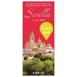 EASY MAP Sevilla 1:12.500