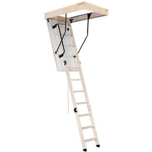 Bodentreppe PS Oman Thermo 110x70 Speichertreppe Treppe Handlauf