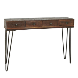 Ib Laursen Beistelltisch Konsolentisch Tisch Beistelltisch Schreibtisch Unika Holz Alt Ib Laursen 2107 00