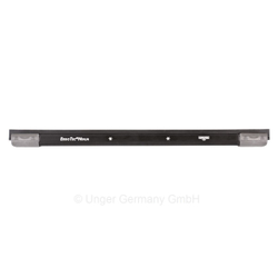 UNGER ErgoTec® NINJA Aluminium Schiene, Komplett mit Soft-Gummi und SmartClip Endkappen, Breite: 35 cm