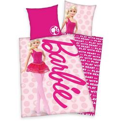 Kinderbettwäsche Barbie, Mattel®, mit tollem Barbie-Motiv