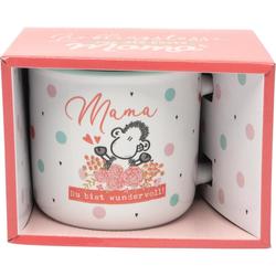 Steinzeug-Tasse 46856 'Mama Du bist wundervoll'