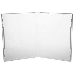 Kronenberg24 Aufbewahrungsbox 10 Stück Freestyle Multistorage Box 135x190x21mm transparent