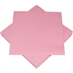 Servietten BASIC rosa
