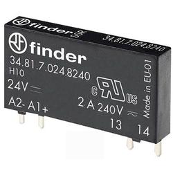 Finder Halbleiterrelais 34.81.7.024.8240 Schaltspannung (max.): 275 V/AC Nullspannungsschaltend 1St.