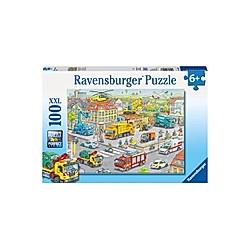 Fahrzeuge in der Stadt (Kinderpuzzle)