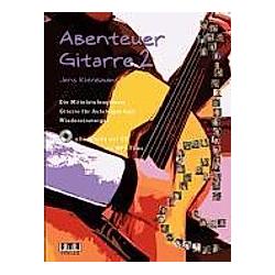 Abenteuer Gitarre  m. Audio-CD. Jens Kienbaum  - Buch