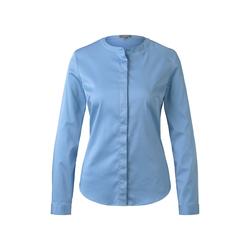 TOM TAILOR MINE TO FIVE Damen Satin-Bluse, blau, Gr.42
