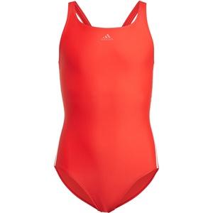 adidas Fit 3S Badeanzug Mädchen rot 116 2021 Schwimmanzüge & Bikinis rot 116
