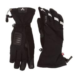 VAUDE Skihandschuhe VAUDE Tura Gloves II Hand-Schuhe wasserdichte Rad-Handschuhe Finger-Handschuhe Schwarz