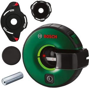 Bosch Linienlaser Atino (1,5 m Arbeitsbereich, horizontales oder vertikales Nivellieren, integriertes Maßband, in Kartonschachtel)