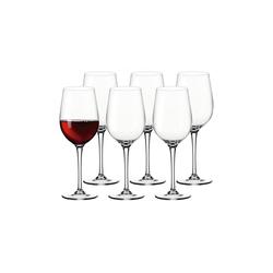 LEONARDO Rotweinglas CIAO+ Rotweinglas 430 ml 6-tlg. (6-tlg), Glas