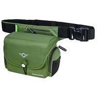 COSYSPEED Camslinger Outdoor Kameratasche mit Hüftgürtel für Systemkameras und kleine DSLR-Kameras olive