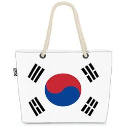 VOID Strandtasche (1-tlg), Südkorea Flagge WM Länderflagge Fahne