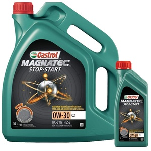 Motorenöl MAGNATEC 0W-30 C2 [6 L] von Castrol (SET15B3E56L) Öl Schmierung Motorenöl
