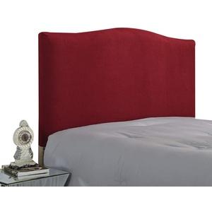 WINS Bett Kopfteil Hussen Stretch Bett Kopfteil Abdeckung Bettkopfteil Bezug staubdicht Kopfteilbezug Schlafzimmer Dekor Weinrot