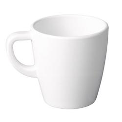 APS Kaffeebecher -CASUAL- Ø 95 cm Höhe 10 cm Melamin weiß 04 Liter VE 50 Stück 83513