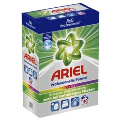 P&G Professional Ariel Colorwaschmittel Pulver, Professionelles Waschpulver für eine ausgezeichnete Tiefenreinigung, 7,15 kg – 110 Waschladungen