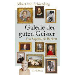 Galerie der guten Geister als Buch von Albert von Schirnding