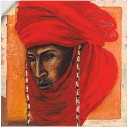 Artland Wandbild Beduine, Mann (1 Stück) 40 cm x 40 cm