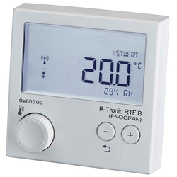 Oventrop Funk-Thermostat R-Tronic RTF B EnOcean, für Smart Home verkehrsweiß