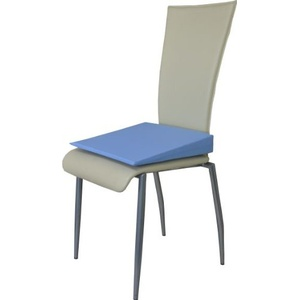Orthopädisches Keilkissen Sitzkeilkissen Sitzkissen Sitzhilfe Kissen, Hellblau