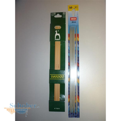 Socken-Stricknadeln, Nadelspiel, verschiedene Größen Strick-Nadelspiel 3,0 mm - 20 cm Metall