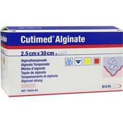 CUTIMED Alginate Alginattamponade 2,5x30 cm