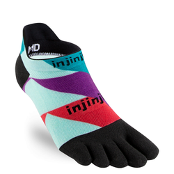 Injinji Run Lightweight No-Show Sock, 40,5-44