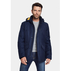 New Canadian Winterjacke RE-Jackt mit abnehmbarer Kapuze blau 52