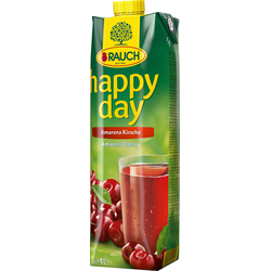 Rauch Happy Day Amarena Kirsche fruchtiger Fruchtsaft 1000ml 6er Pack