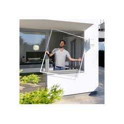 Insektenschutz-Fenster Spannrahmen PLUS, BxH: 100x120 cm