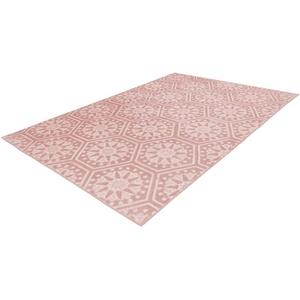 Läufer Monroe 200, Arte Espina, rechteckig, Höhe 7 mm, besonders weich durch Microfaser rosa 80x300 cm