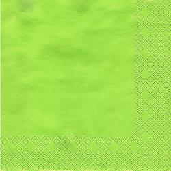 Papierserviette, grün, 33 x 33 cm, 20 Stück