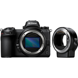 Nikon Kit Z 6 FTZ Systemkamera (24,5 MP, Bluetooth, WLAN (Wi-Fi)