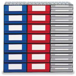 1658648 Schublade für Schubladensystem (B x H x T) 242 x 102 x 345mm Rot 1St.