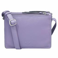 Voi Deluxe Arleen Umhängetasche Leder 20 cm frosted violett