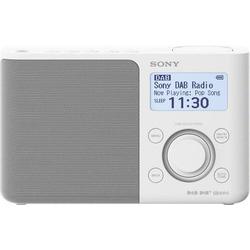 Sony XDR-S61D Kofferradio DAB+, UKW AUX Weiß