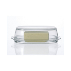 LEONARDO Butterdose Glas Butterdose