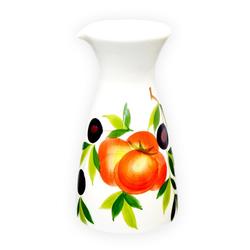 Lashuma Wasserkaraffe Tomate Olive, Wasserkrug handgemacht, Teekanne 19x10 cm