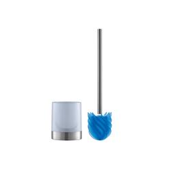 WC-Reinigungsbürste, LOOMAID, (2-tlg), WC-Bürste Silikonkopf blau/milchig